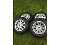 """16"""" 17"""" Ford Transit Custom Limited Alloy Wheels Continental Tyres"""