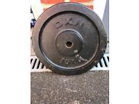 Cast Iron Weight Plate 15kg