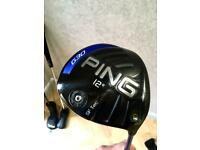 Ping G30 Straight Flight Tec driver - great condition
