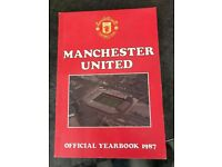 MUFC Yearbooks 1987 - 2016 (28) 2011 missing.