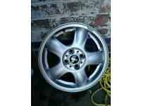 Bmw mini wheel