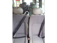 10 X MINI BUS SEATS
