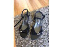 Women shoes black size 7 uk