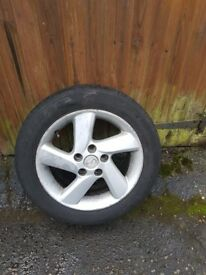 Mazda 6 alloys and tyres