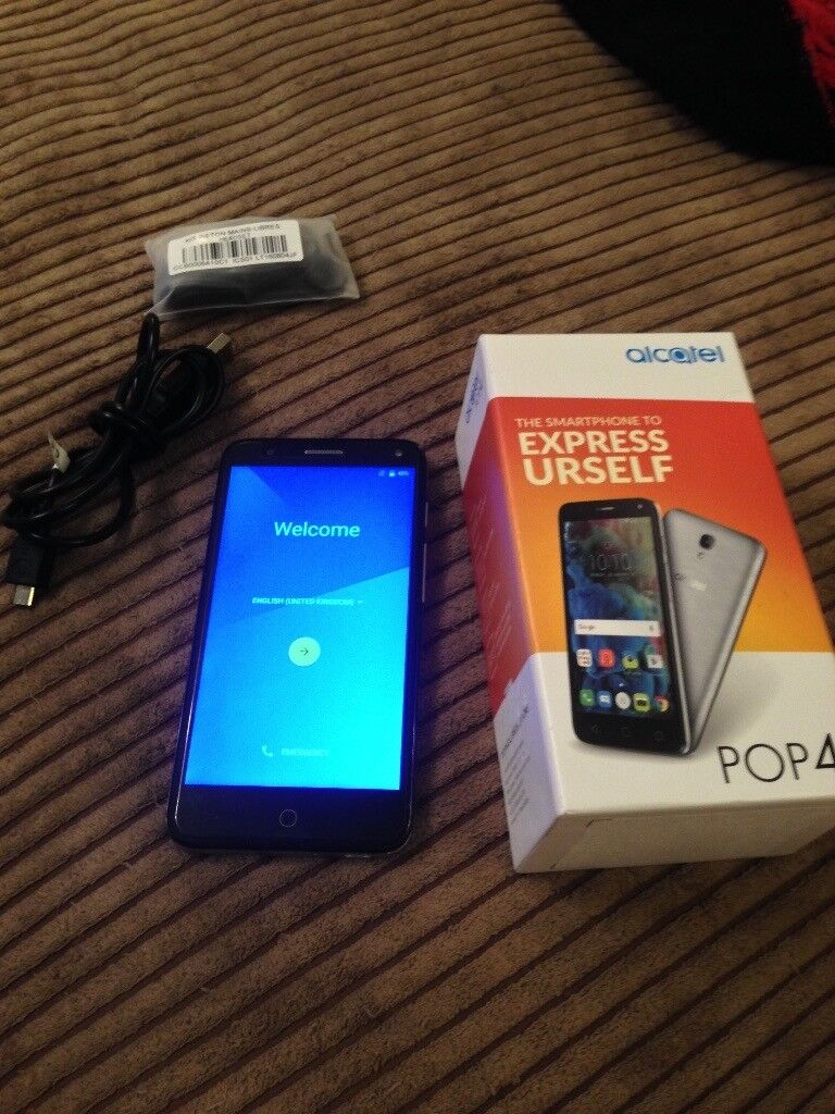 Alcatel pop 4 mobile phone