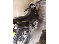 Sfm zx 125 very low milage excellent condition