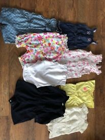 Baby girls clothes age 6-9 months