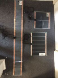 heat mats and light fixture