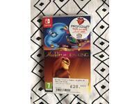 Nintendo switch Disney Aladdin