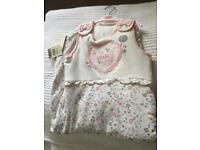 Baby girl sleep bag