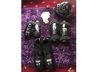 Full set adult martial arts sparring pads