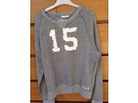 Abercrombie and Fitch - Grey Round Neck Jumper