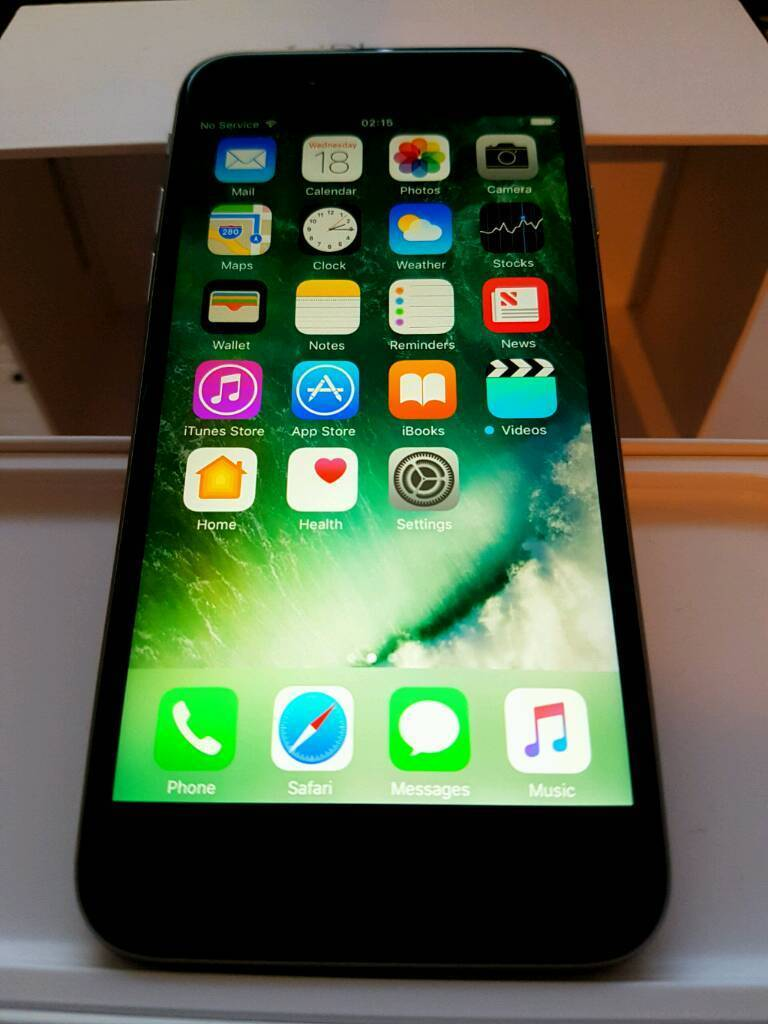 iPhone 6S 16GB Space Grey (MINT CONDITIONin Bransholme, East YorkshireGumtree - Emaculate Condition not a mark on the phone anywhere!Looks brand New. Screen is scratch free no marks.12MP Camera plus (5MP selfie camera) lolOn the O2 networkOut of contract aswell.Comes with box and charger.£300 ono