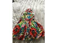 Beautiful Girls Summer Dress Size 5