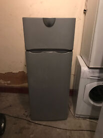 Very Nice Indesit Silver Fridge Freezer (Fully Working & 3 Month Warranty)