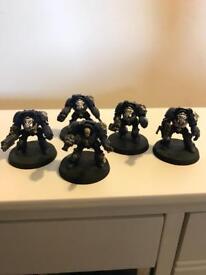 Space marine terminator squad.