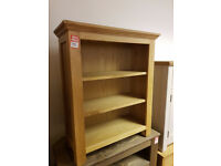 knightbridge small bookcase oak