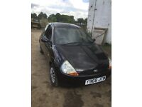 Ford KA 1.3 Collection Metallic Black, very cheap, this is luxury ka fully loaded with all extras