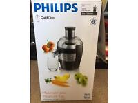 Philips juicer - brand new, boxed.