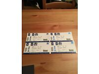 4 SCOTLAND VS WALES TICKETS FOR SALE