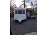 2 berth fleetwood Colchester 470 2004 model with motor mover