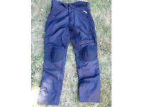 Biko Protective motorcycle trousers size M Black