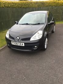2008 Renault Clio Dynamique 1.5d dci86. ONLY 64901 miles, £ 30/Year ROAD TAX, 60+ MPG