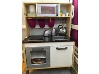 Ikea toy kitchen with extras