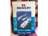 Stenaline playing cards