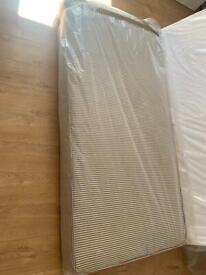 Free single mattress with base