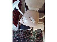 Thyssenkrupp Levant Comfort straight stair lift nearly new