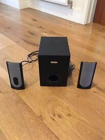 PC Speakers - 2.1 Creative Powered Speaker set