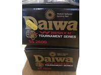 Daiwa whisker ss2600 x2 boxed