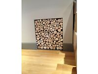 Hand-cut firewood for decorative fireplace/alcove