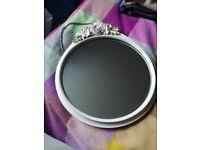 FREE white round flower mirror