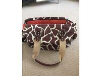 OiOi Baby Changing Bag - Giraffe Print