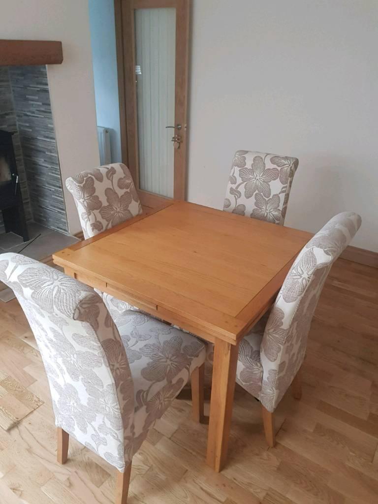 Solid Oak furniture harveys in Pontllanfraith