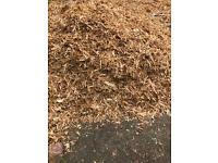 Soft play wood chippings