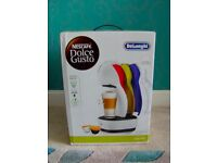 New Delonghi Nescafe Dolce Gusto Colors coffee machine/maker, rrp £109.99, EDG355.W1