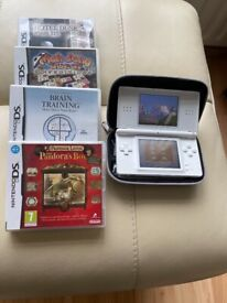 Nintendo DS Lite and games for sale