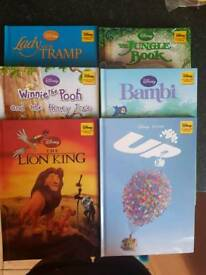 6 x Disney Books