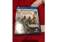 Assassins creeds Unity PS4