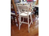 Wooden child's dining chair