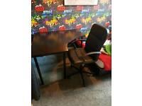 Ikea desk & chair