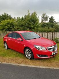 Vauxhall Insignia 1.8 vvt SRI Rare in Power Red