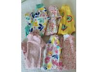 New born 1st size Baby girl clothes