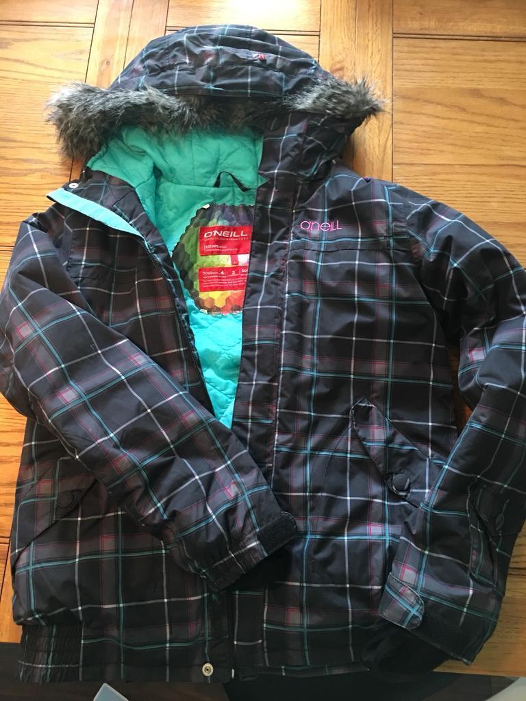 Ladies O'Neill ski/snowboard jacket size l (12/14)