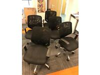 5x Office chairs. Free