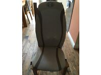 HomeMedics luxury gel shiatsu chair