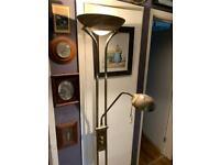 Revive Brass Mother & Child LED Floor Lamp